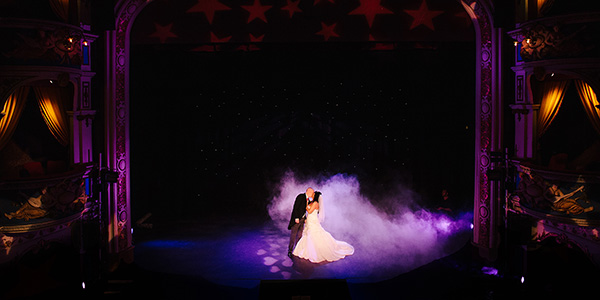 Weddings at Crewe Lyceum Theatre