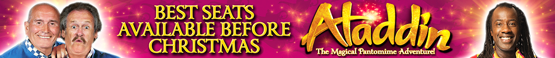 Book now for Aladdin from 10 - 31 December!