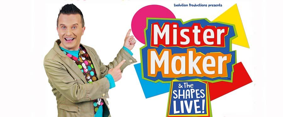 Mister Maker & The Shapes Live